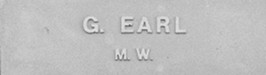 Image of plaque on tree S098 for Everatt (Graham) Earl