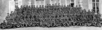 Group photo of the 12th Field Company Engineers - 1917
