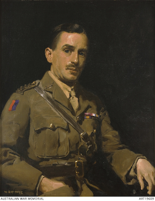 Portrait of Rupert Moon, courtesy of the<br />AWM