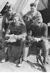 Photograph of a group of soldiers including Sapper  George Paterson