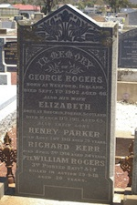 Memorial for William Rogers