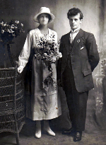 Image of Harry Ruddick at his wedding