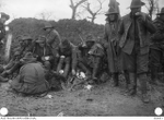 A fatigue party of the 22nd Battalion, road mending between Montauban and Mametz